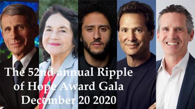Ripple Of Hope Award Gala