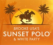Brooke USA Sunset Polo & White Party