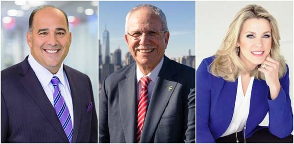 2020 HeartShare Honorees Chris Perry, William R. Guarinello and Deborah Norville