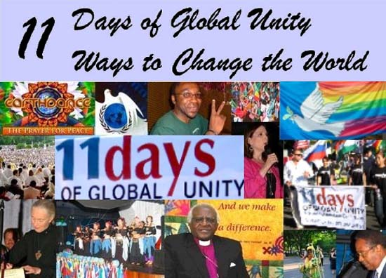 11 Days of Global Unity - 11 Ways to Change the World