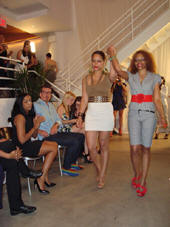 Fashion Assistant Natalie LaRon and Designer
