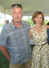 Alec Baldwin, Toni Ross.  Photo by:  Richard Lewin