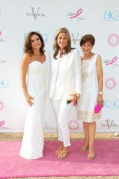 Iris Dankner, Aerin Lauder and Myra Biblowit. Photo by: Daniel Gonzalez Photography