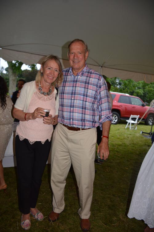 Former Governor New York George Pataki and lovely wife Libby.  Photo by:  Rose Billings/Blacktiemagazine.com
