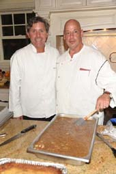 Chef Michael Maenza, Chef George Rhode IV
