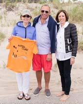 Mary Ann Tighe, Uniting Against Lung Cancer board president, Gregg Rechler, Suri Kasirer. Photos by:  DeeIsForDogs Photography