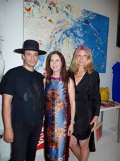 Hosts, VIctor dE Souza, Dr. Penny Grant and Daniela Zahradnikova .  Photo by:  Katlean de Monchy