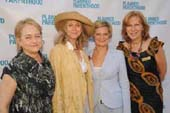 Writer Loraine Boyle, Actress Blythe Danner,