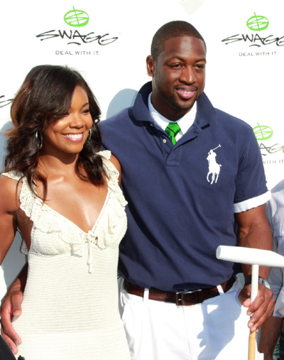 "Dwyane Wade ""Miami Heat""  and Gabriella Union"