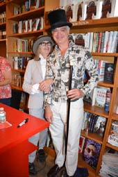 Diane Keaton and Kevin Berlin at BookHampton.  Photo by:  Rose Billings