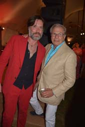 Rufus Wainwright and Samuel Waxman, M.D. Photo by Rose Billings/Blacktiemagazine.com