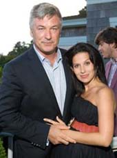 Alec Baldwin, Hilaria Baldwin.  Photo by:  Gregory Partanio/manhattan society