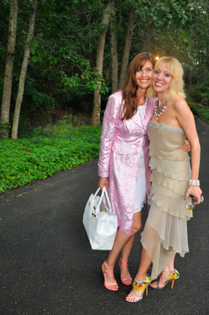 Carol Alt and Anait Kilazde