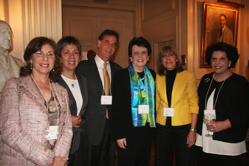 Maria Schaefer, Robin Lynn, Marshall Levin, Billie Jean King,