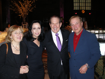Dr. Mary Sano, Ann Mann and Jeff Mann and Bruce Cohen