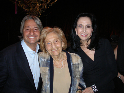 Honoree Dr. Larry Rosenthal with Mom Mitzi and Wife Ann