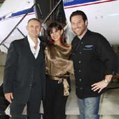 Arik Kislin, Olya Kislin and Scott Conant