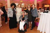 "At the S.L.E. Lupus Foundation NY Bag Ladies Luncheon April 25, opera star and Board member Jessye Norman presented the ""Woman of Achievement"" award to Mary E. Belle, President, Licensing The Jones Group. Matilda Raffa Cuomo, Former First Lady of New York State, Founder and Chair of Mentoring USA National/International was also honored. Pictured here with Jessye, Mary and Matilda are S.L.E. Lupus Foundation co-founder Susan Golick and Executive Director Margaret Dowd"