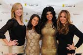 Laura Fisher, Michelle Javian, Teresa Giudice & Andrea Correale.  Photo by: Sunny Norton