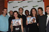 Nick Greenfield, Sean Harvey, Felicia Greenfield, Rob Eigenbrod, James Pierce III, Jen Halpern and David Chokachi