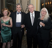 Dr. Nancy Green, Dr. Richard Mayeux, Dr. Herbert Pardes, Dr. Nancy Wexler.  Photo by:  Janet Charles Photo