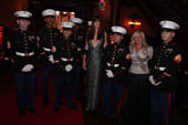 U.S. Military Volunteers, Carol Alt and Linda Giammona