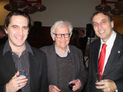 Kristofer Ambrose, Albert Maysles and Paul Kornblueh
