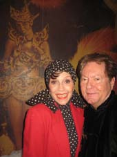 "04-14-14 Liliane Montevecchi and Jean-Claude Baker at the book party for ""Josephine Baker and the Rainbow Tribe"" at Chez Josephine. 414 West 42nd St. Sunday afternoon. 04-13-14.  Photo by:  Aubrey Reuben"