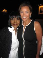 04-23-14 (L-R) Cicely Tyson. Vanessa Williams announce the nominations for the 64h Annual Outer Critics Circle Awards at the New York Friars Club. 57 East 55th St. Tuesday morning. 04-22-14.  Photo by:  Aubrey Reunem
