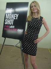 "08-15-14 Cast member Heather Graham at a Meet & Greet for ""The Money Box"" at Second Stage Theatre. 305 West 43rd St. Thursday morning. .  Photo by  Aubrey Reuben"