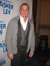 "11-29-12 Matthew Lombardo at the opening night for  ""My Name is Asher Lev"" at the Westside Theatre."