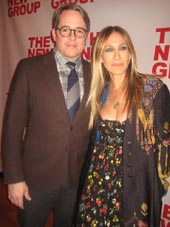 Matthew Broderick and Sara Jessica Parker.  Photo by:  Aubrey Reuben