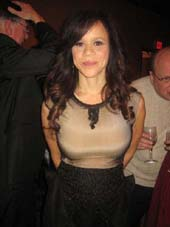 Rosie Perez.  Photo by:  Aubrey Reuben