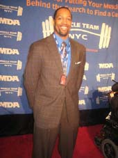 01-09-13 Michael Boley (NY Giants) at the 16th Annual Muscular Dystrophy Association's (MDA) Muscle Team Gala & Benefit Auction at Chelsea Piers. Pier 90. Hudson River & 23rdSt. Tuesday night 01-08-13