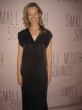 "07-16-16 Playwight Bess Wohl at the opening night party for ""Small Mouth Sounds"" at The Lindeman. 508 West 42nd St. Wednesday night.07-13-16.  Photo by:  Aubrey reuben"