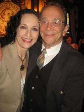 06-15-12 Bebe Neuwirth and Joel Grey at The Theater Hall of Fame 2012 Fellowship Luncheon Saluting Joel Grey at the New York Friars Club. 57 East 55th St.