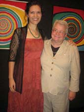 06-22-12 Honoree Erika Sheffer (L) and Paula Vogel at the 5th Annual Emerging Artists Luncheon of the Paul Vogel Playwriting Award at the National Arts Club. 15 Gramercy Park South. Thursday afternoon 06-21-12