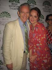 Melissa Errico, Stephen Bogardus .  Photo by:  Aubrey Reuben