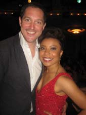 06-04-13 2013 Theatre World Winners Bertie Carvel and Shalita Grant at the 69th Annual Theatre World Awards Ceremony at The Music Box Theatre. 239 West 45 th St. Monday night. 06-03-13