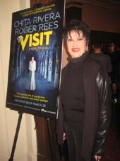 03-25-15 Cast member Chita Rivera at a press event for.  Photo by:  Aubrey Reuben