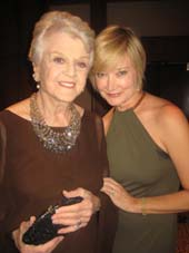 "11-06-12 Angela Lansbury (L) and Caitlin Carter at the gala for ""Jump for Joy!"" at the New York Hilton. 1335 Avenue of the Americas. Monday night 11-05-12"