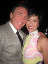 "10-21-13 Cast member Patrick Page and Paige Davis at the opening night party for ""A Time to Kill"" at Bryant Park Grill. 25 West 40th St. photo by:   aubrey reuben"
