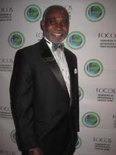 09-30-14 Dr. Oheneba Boachie-Adjei. Founder of FOCOS. was honored at the Seventh Annual FOCOS Gala at the Mandarin Oriental Hotel. 80 Columbus Circle. Monday night. 09-29-14 Photo by:  Aubrey reuben