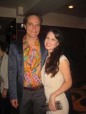 "10-05-12 Cast members Michael Shannon and Kate Arrington at the opening night party for ""Grace"" in the Copacabana. 268 West 48th St. Thursday night 10-04-12"