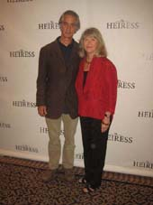 "09-14-12 Cast members (L-R) David Stathairn. Judith Ivey at a photo op for ""The Heiress"" at the Empire Hotel"