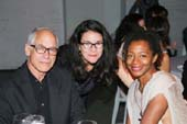 Dia Fall Night November 12, 2012, Haim Steinbach,  Yasmil Raymond and Kara Walker.