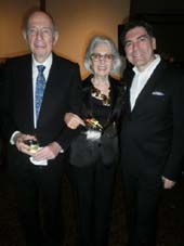 Donald Tober, Barbara Tober, and Michael Aram.  Photo by:  Gregory Speck