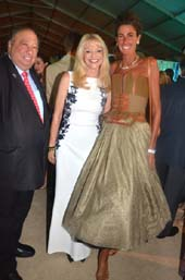 John Catsimatidis ,Margo Catsimatidis, and Somers Farkas .  Photo by:  rose billings