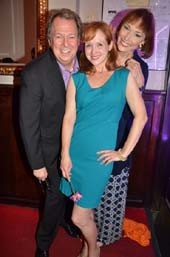 Eric Michael Gillett, Lauren Stanford and Karen Akers.  Photo by:  Rose Billings