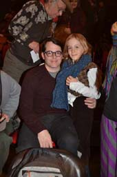 Matthew Broderick and James-Wilkie Broderick..Photo by:  Rose Billings